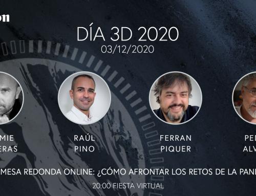 Día 3D 2020: Combatiendo los retos de la pandemia en la (Post)Producción con profesionales distinguidos de la industria