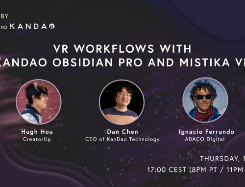 Join VR experts Hugh Hou and Ignacio Ferrando discussing trending VR workflows with KanDao Obsidian Pro & Mistika VR