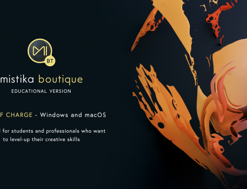 Free Education Edition of Mistika Boutique, designed for students and professionals who want to level-up their creative skills