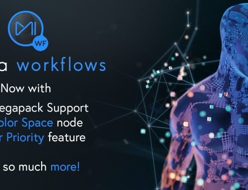 Mistika Workflows adds further customization of media management, enhanced user experience and DCP transcoding
