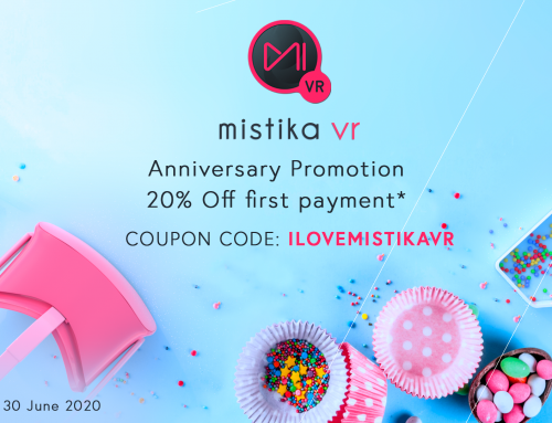 SGO's game-changing Mistika VR marks its third anniversary with a 20% discount on the first payment