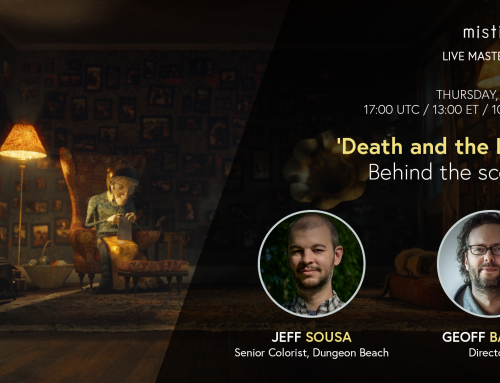 Up next: Behind the scenes with filmmakers Geoff Bailey and Jeff Sousa, discussing animated short 'Death and the Lady'